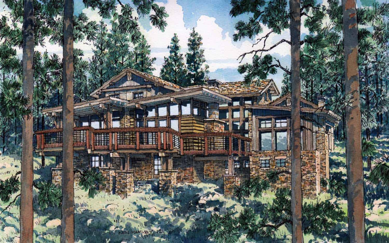 Mountain Contemporary Home-Centre Sky Architecture-23-1 Kindesign