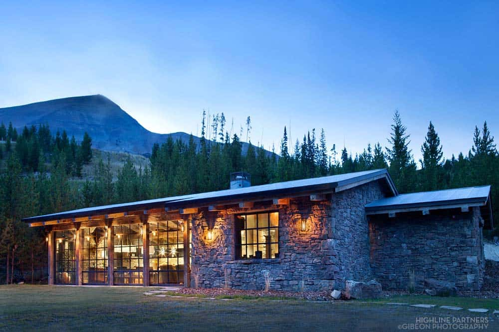 Mountain Guest Cabin-Pearson Design Group-01-1 Kindesign