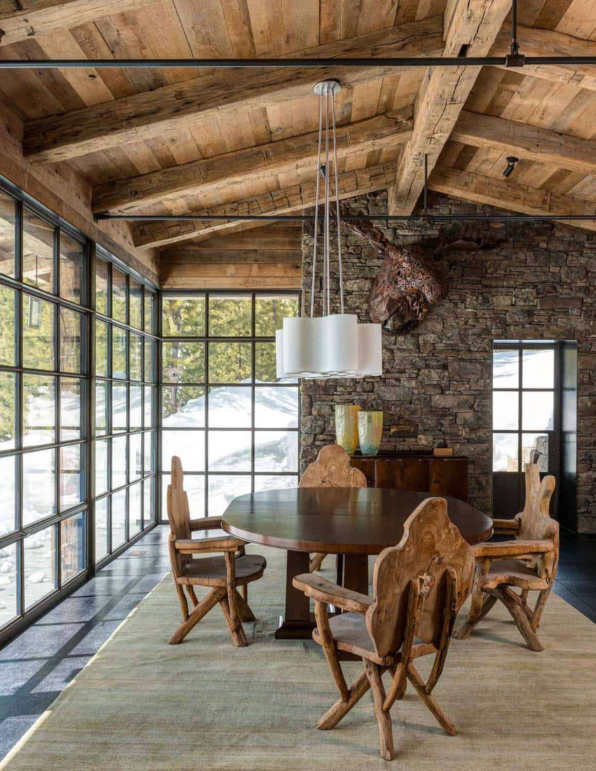 Mountain Guest Cabin-Pearson Design Group-03-1 Kindesign