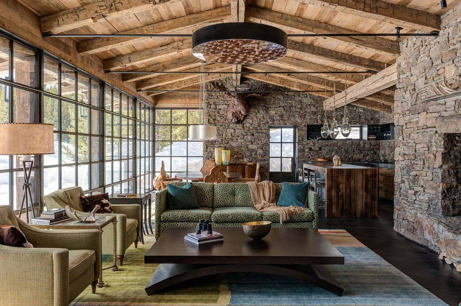 Mountain Guest Cabin-Pearson Design Group-06-1 Kindesign