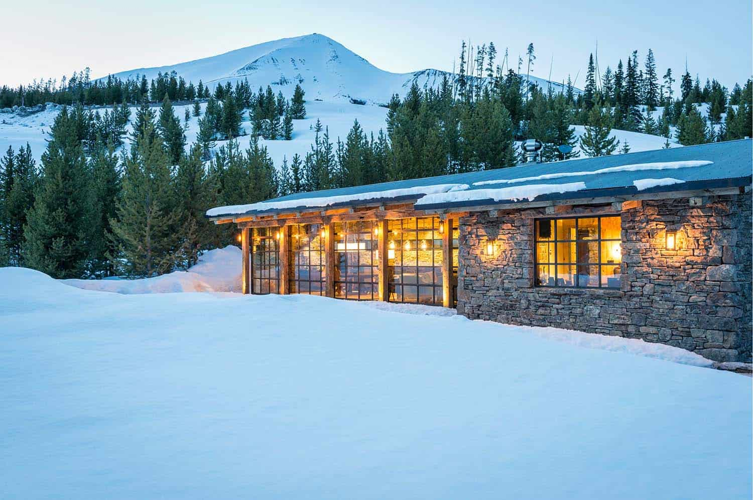 Mountain Guest Cabin-Pearson Design Group-20-1 Kindesign