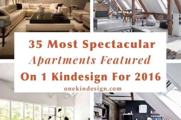 featured posts image for 35 Most spectacular apartments featured on 1 Kindesign for 2016