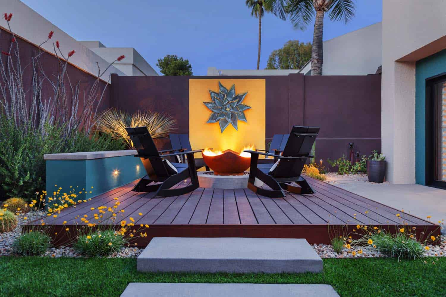 Contemporary Deck Ideas-Fire Features-07-1 Kindesign
