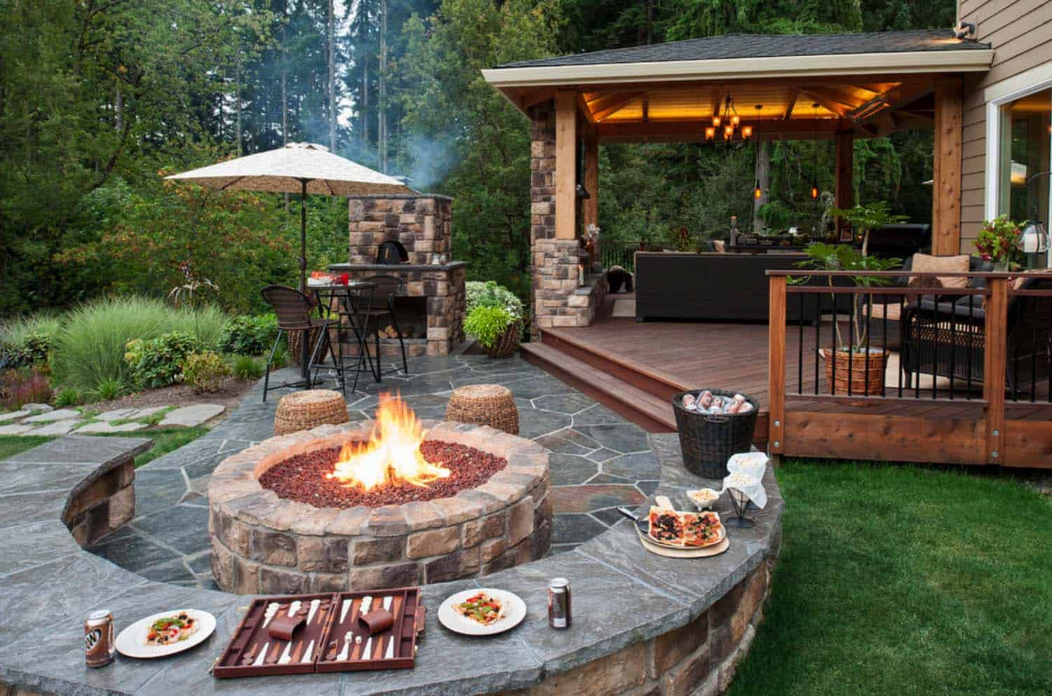 Contemporary Deck Ideas-Fire Features-15-1 Kindesign
