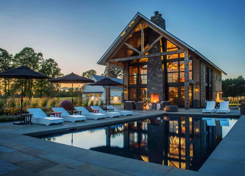 Contemporary Farmhouse TruexCullins Architecture 01 1 Kindesign