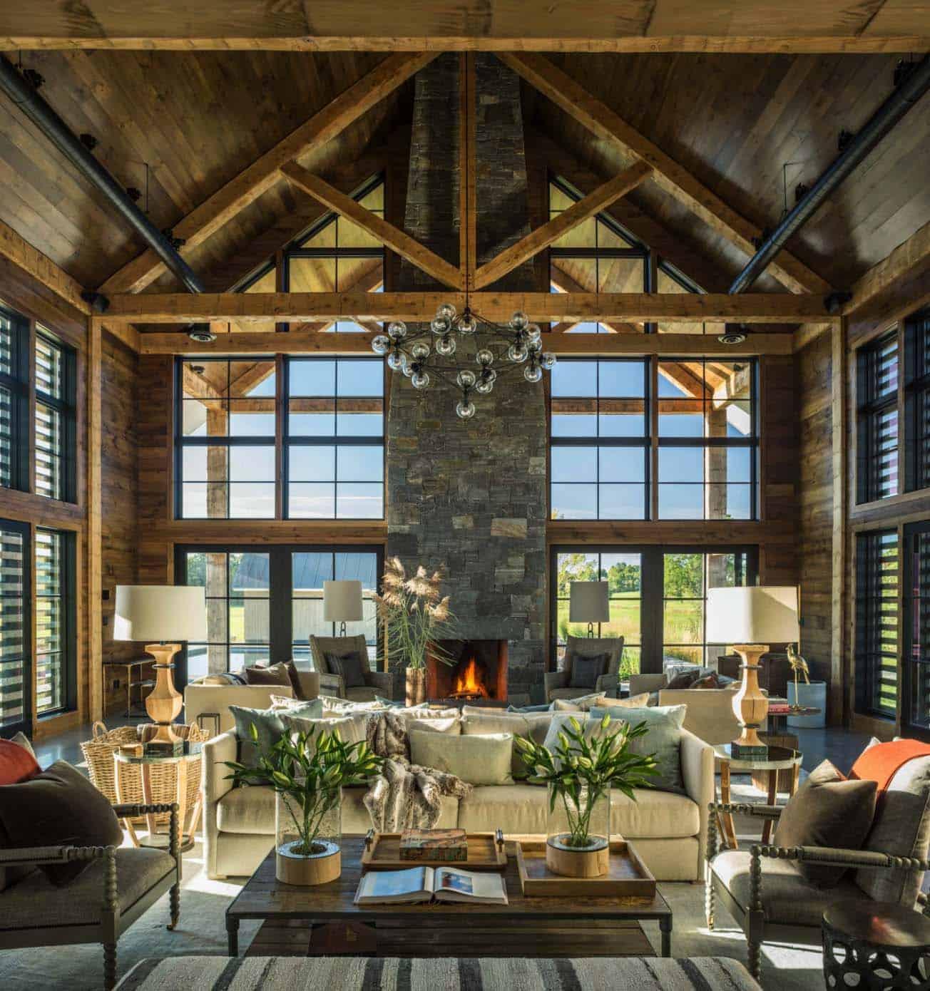 Contemporary Farmhouse-TruexCullins Architecture-11-1 Kindesign