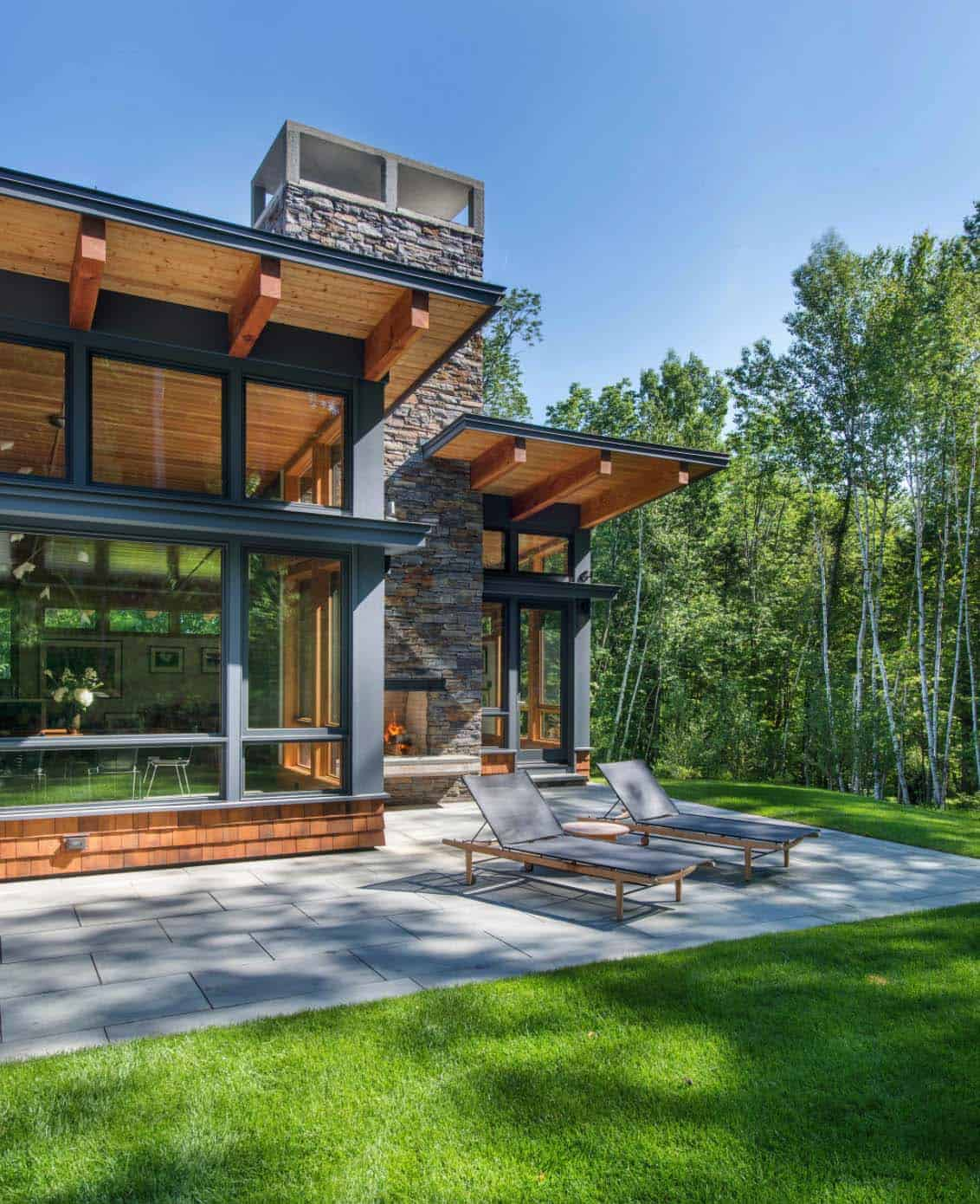 Contemporary Mountain Getaway-Flavin Architects-04-1 Kindesign