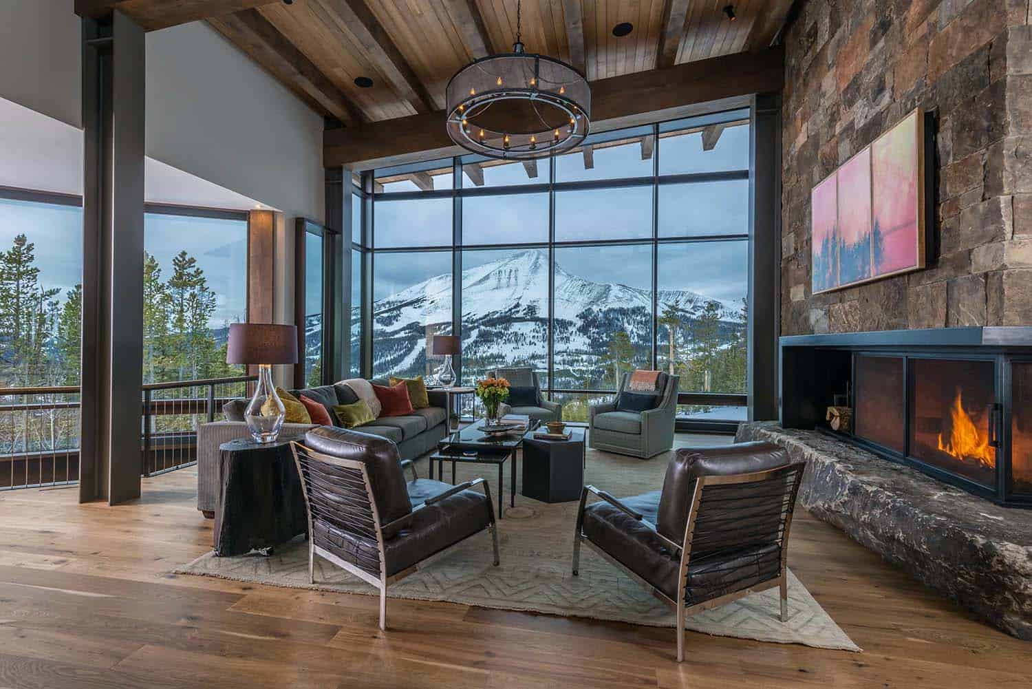 Contemporary Mountain Residence-Reid Smith Architects-03-1 Kindesign