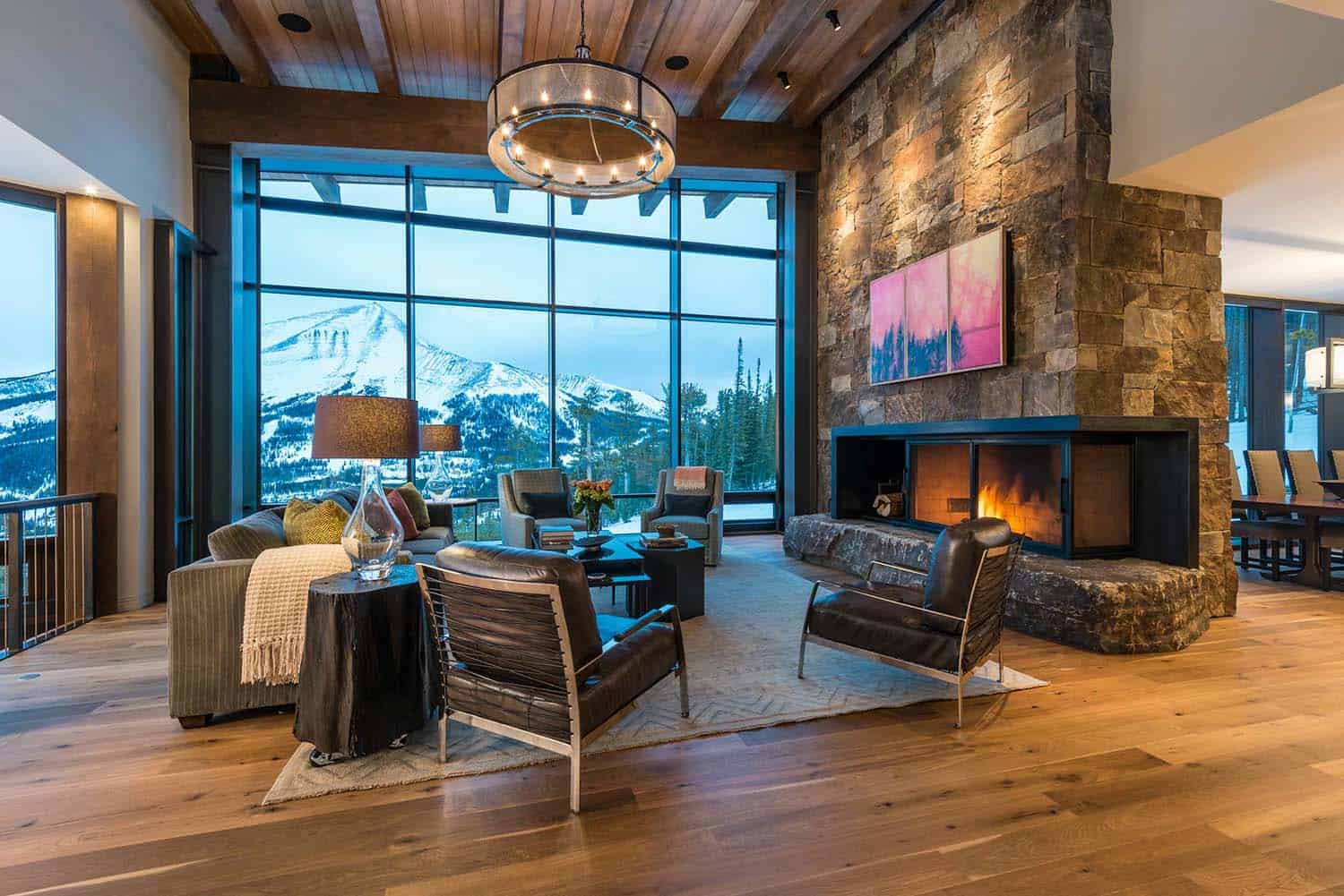 Contemporary Mountain Residence-Reid Smith Architects-04-1 Kindesign