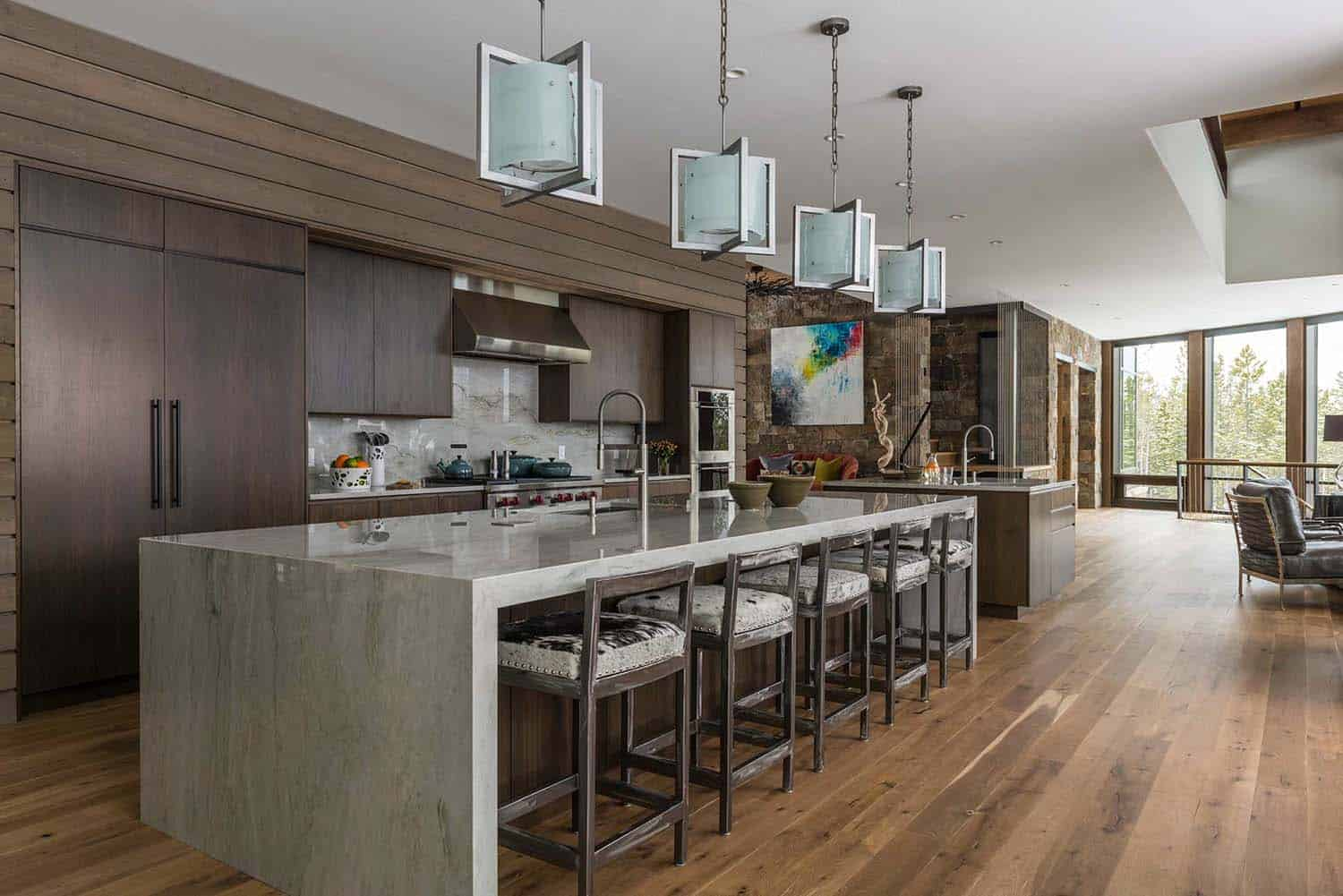 Contemporary Mountain Residence-Reid Smith Architects-05-1 Kindesign