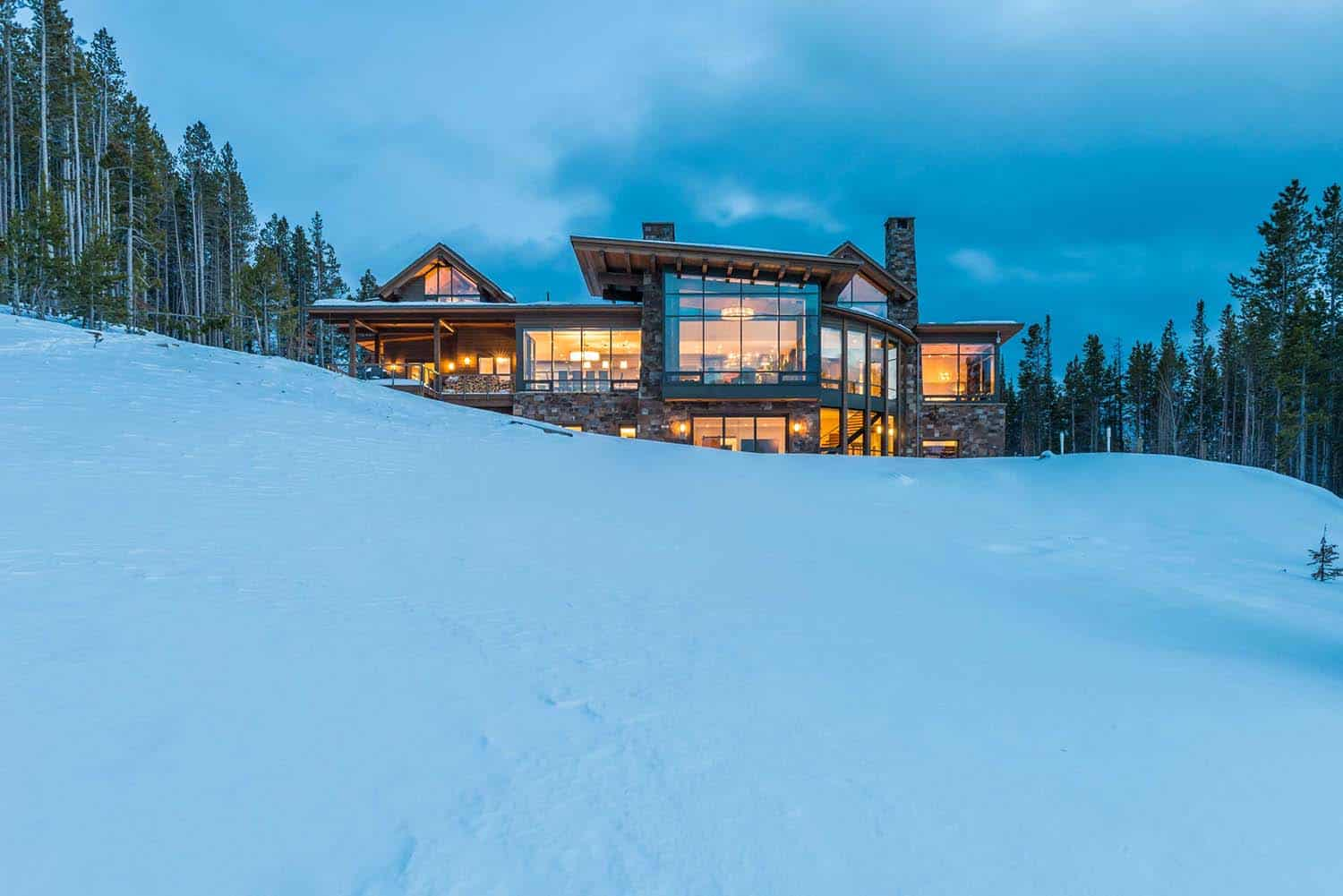 Contemporary Mountain Residence-Reid Smith Architects-27-1 Kindesign