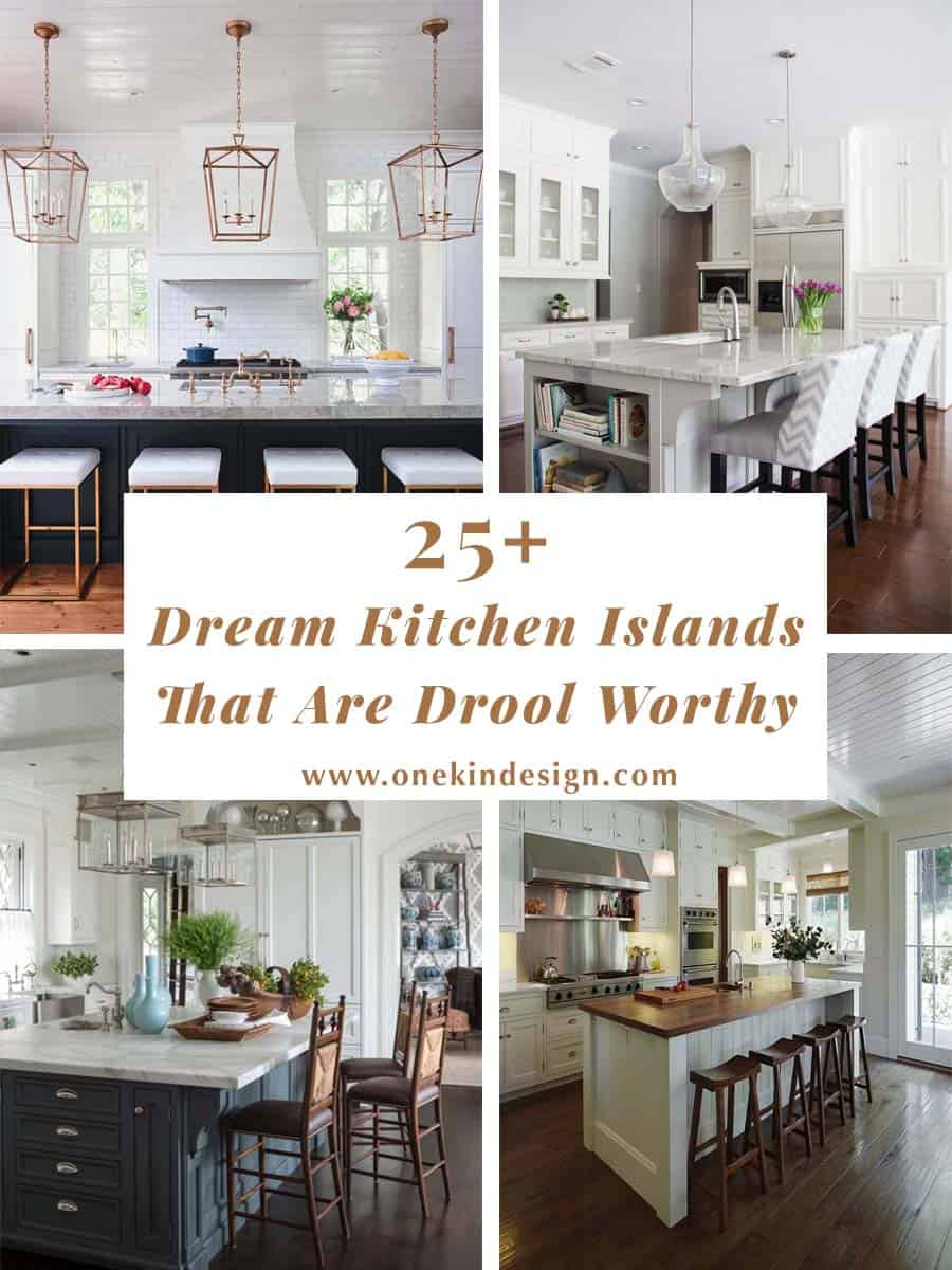 Incredible 25 Dream Kitchen Islands That Are Utterly Drool Worthy Download Free Architecture Designs Estepponolmadebymaigaardcom