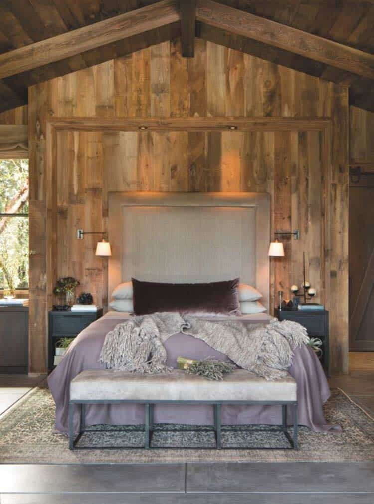 farmhouse style master bedroom