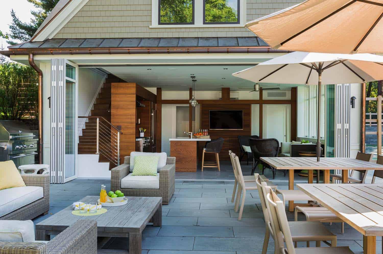 Hilltop Gambrel House-LDa Architecture-22-1 Kindesign