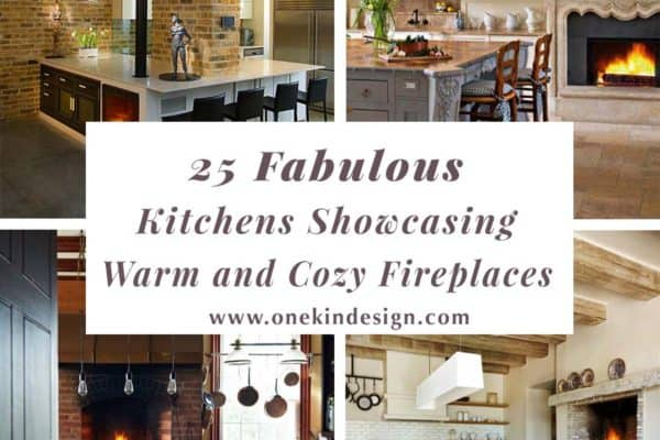 featured posts image for 25 Fabulous kitchens showcasing warm and cozy fireplaces