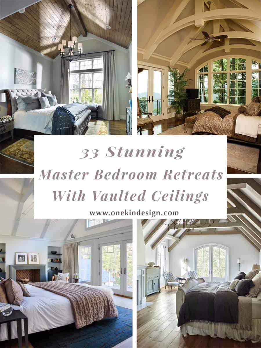 33 Stunning master bedroom retreats with