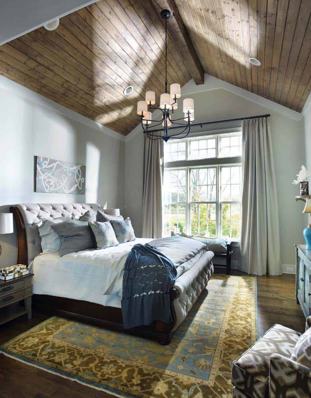 33 stunning master bedroom retreats with vaulted ceilings 16139 | master bedroom vaulted ceiling 25 1 kindesign