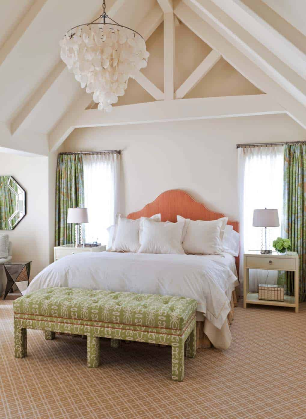 33 stunning master bedroom retreats with vaulted ceilings 16139 | master bedroom vaulted ceiling 32 1 kindesign