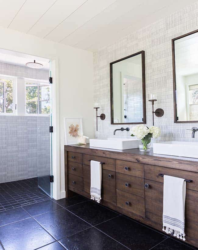 Modern farmhouse style with timeless interiors in Northern ... on Modern Farmhouse Shower  id=91518