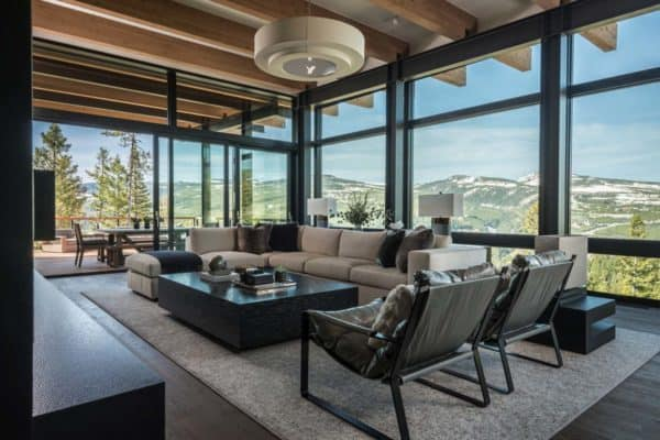featured posts image for Mountain modern home hovers above the Montana wilderness
