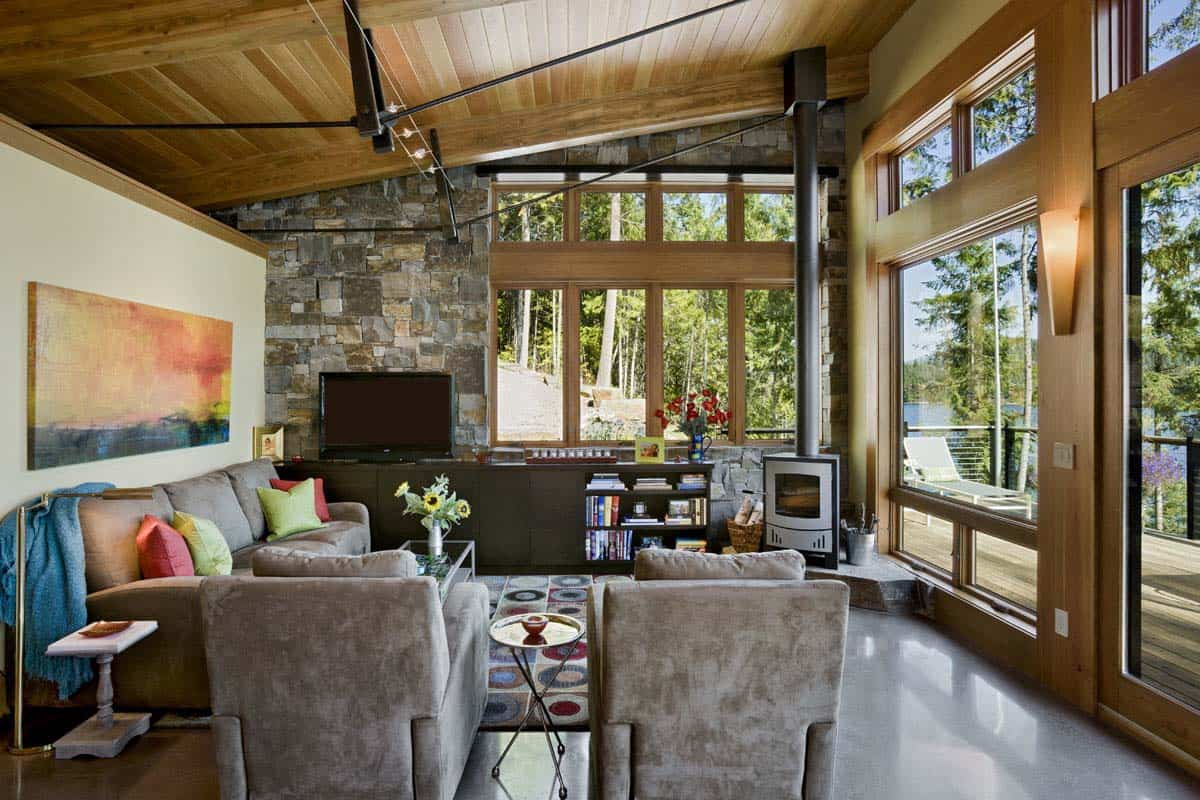 Rustic Lake House-Reid Smith Architects-06-1 Kindesign