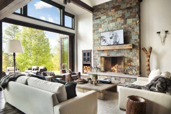featured posts image for Rustic-modern dwelling nestled in the northern Rocky Mountains