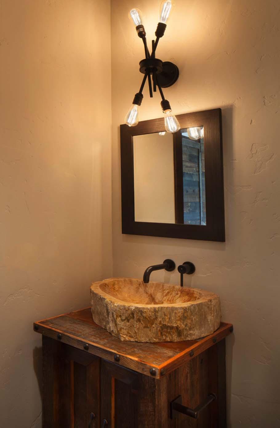 Rustic-Modern Dwelling-Sage Interior Design-12-1 Kindesign