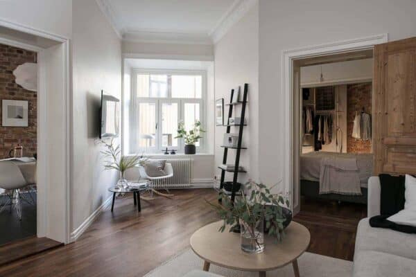 featured posts image for Small apartment in Gothenburg exudes charm and spaciousness