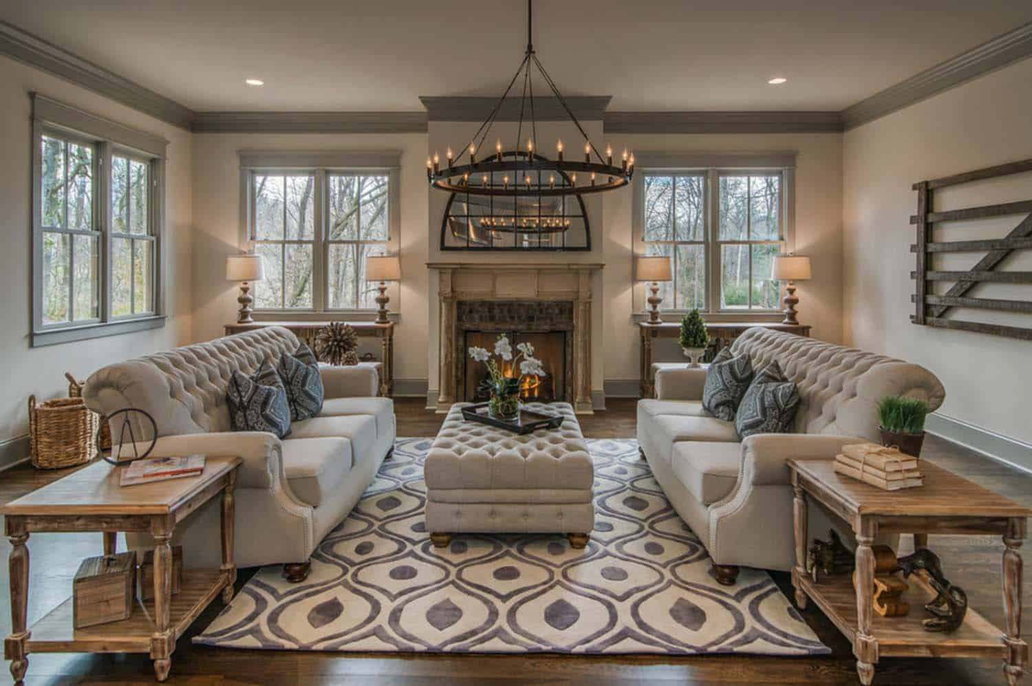 Transitional Style Home-Millworks Designs-01-1 Kindesign