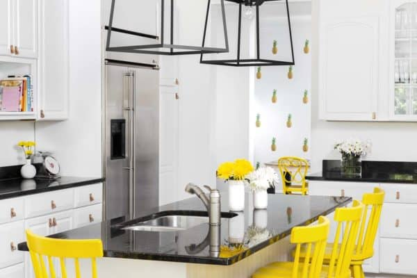 featured posts image for Bright and playful interiors characterize this Westhampton beach house