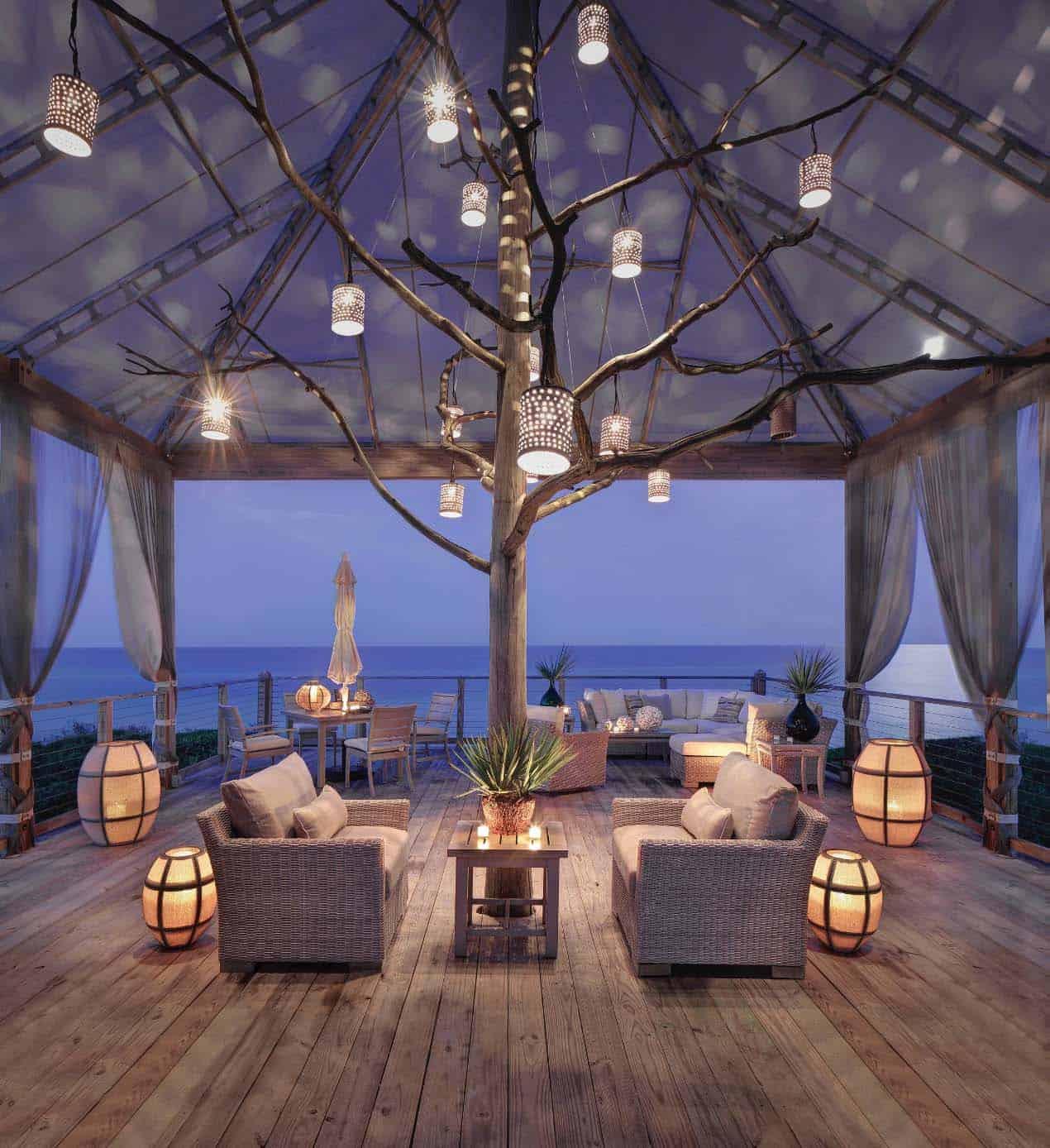 Amazing Beach Style Deck Ideas-01-1 Kindesign