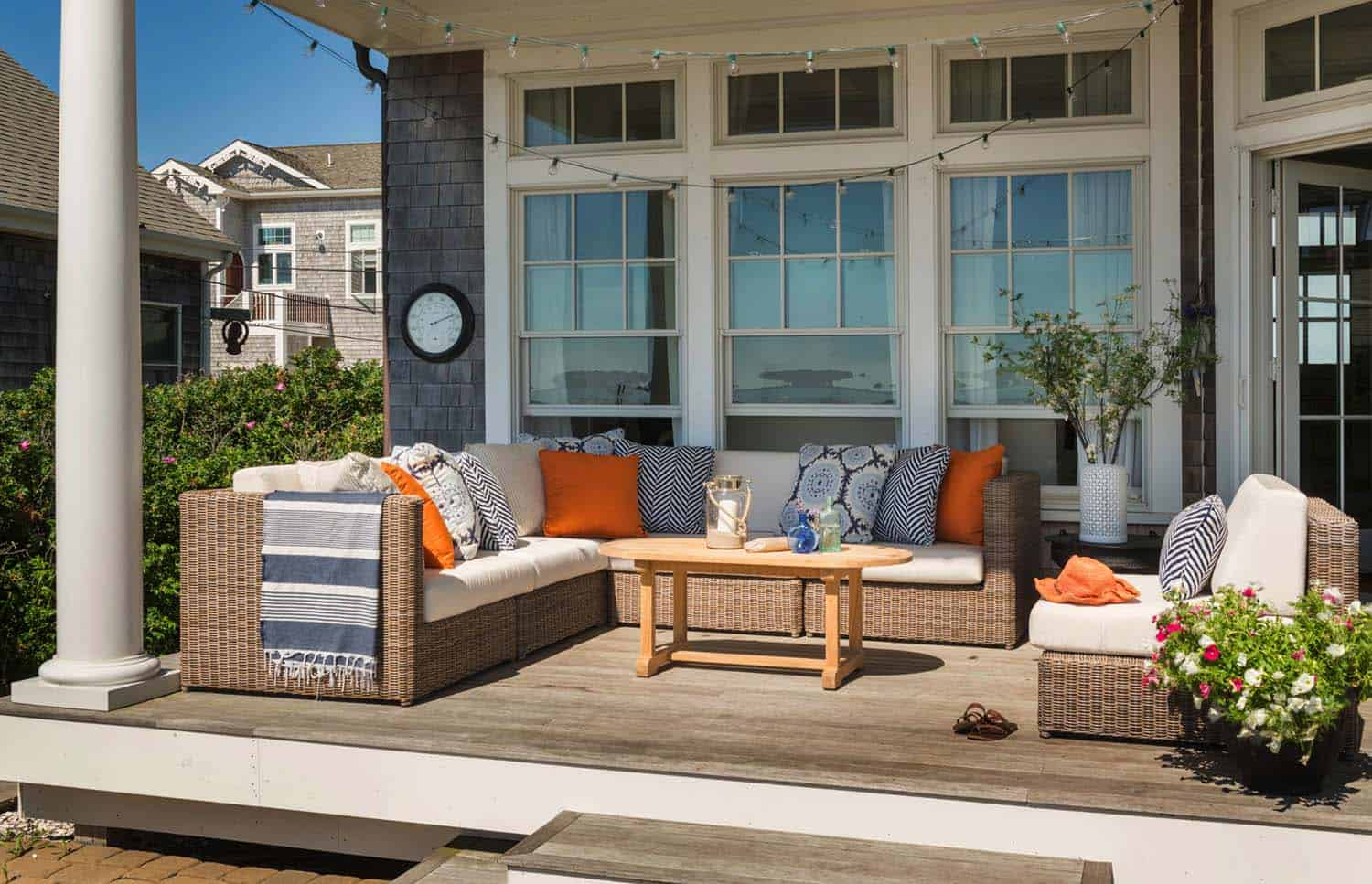 36 Breezy Beach Inspired Diy Home Decorating Ideas: 30+ Amazing Beach Style Deck Ideas Promoting Relaxation