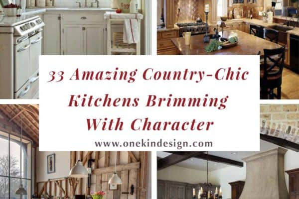 featured posts image for 33 Amazing country-chic kitchens brimming with character