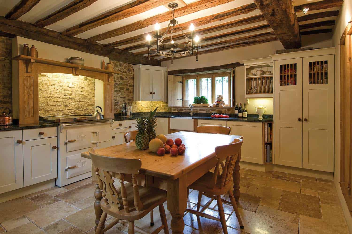 Amazing Country Chic Kitchens-02-1 Kindesign