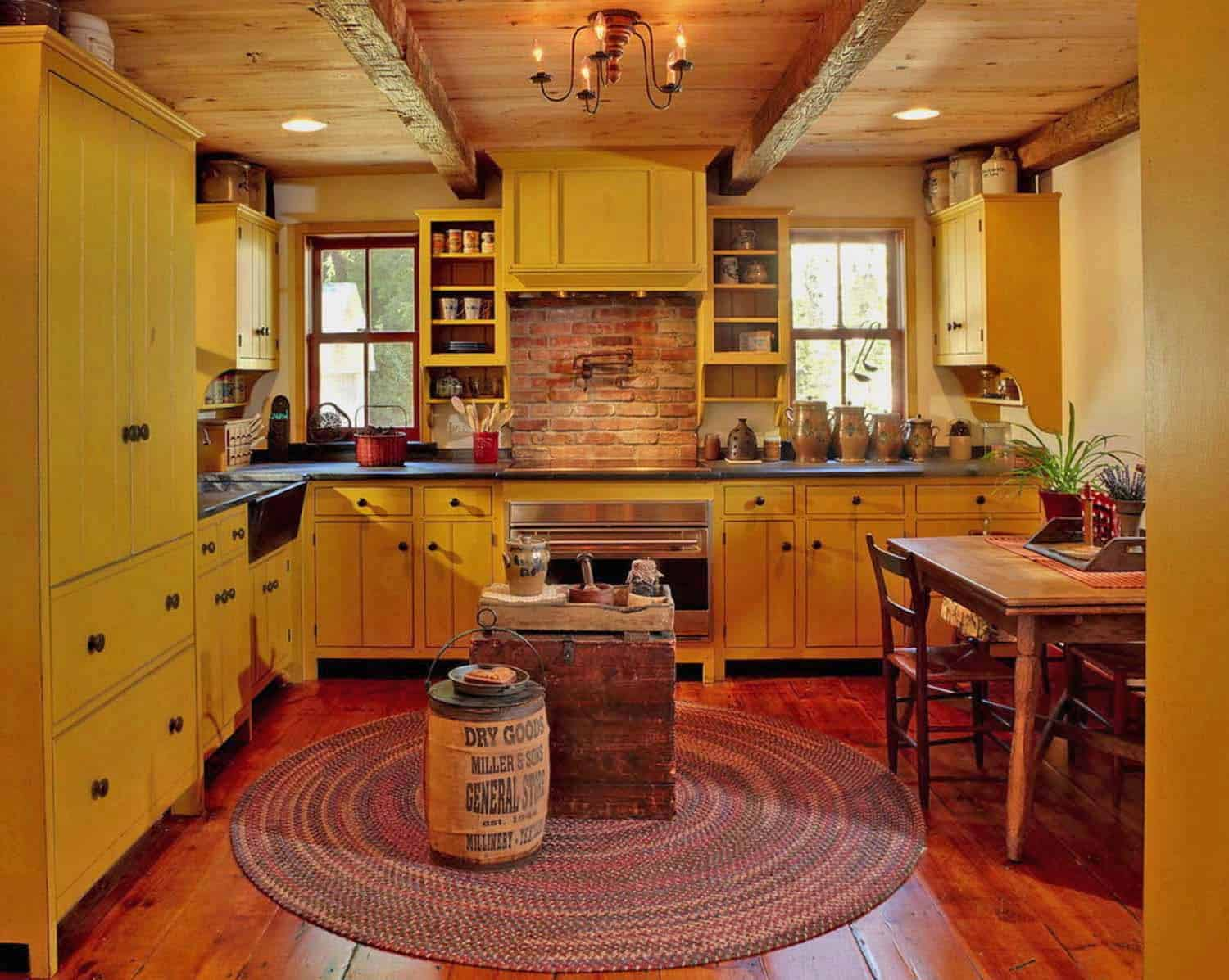 Amazing Country Chic Kitchens-027-1 Kindesign