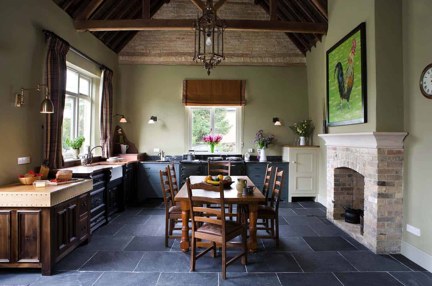 Amazing Country Chic Kitchens-06-1 Kindesign