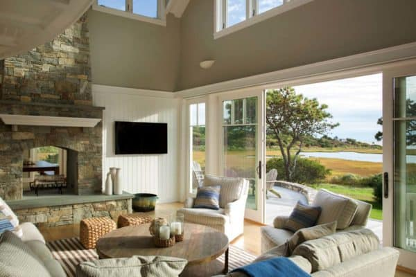 featured posts image for Seaside home on Martha's Vineyard inspired by nautical elements