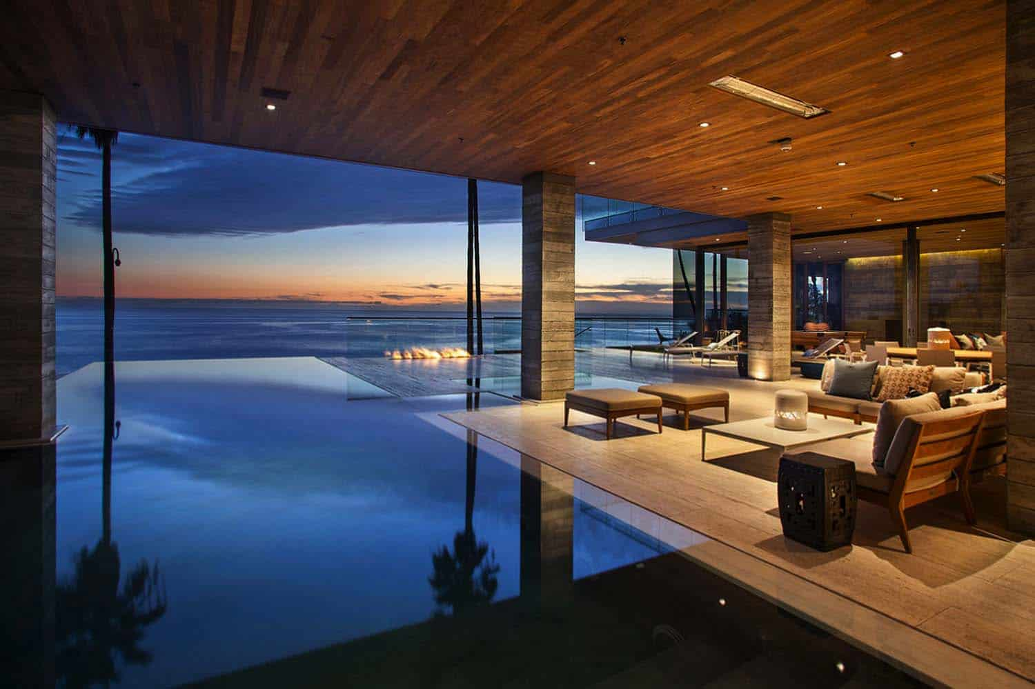 Floorplan Of A House Minimalist Beach House Perched On A Cliff In Laguna Beach