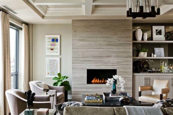 featured posts image for Chic urban condo in Boston gets a dynamic redesign