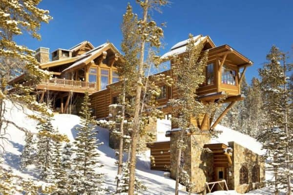 featured posts image for Breathtaking Montana mountain retreat perched atop a ridgeline