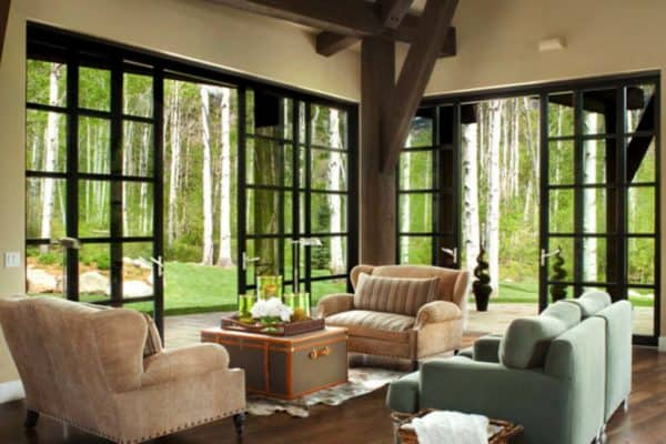 featured posts image for A mountain dwelling in Elkins Meadows surrounded by an aspen grove