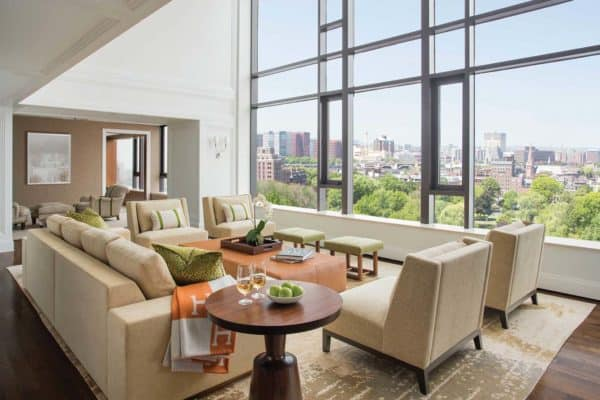 featured posts image for Two-story Beacon Hill penthouse boasting gorgeous interiors