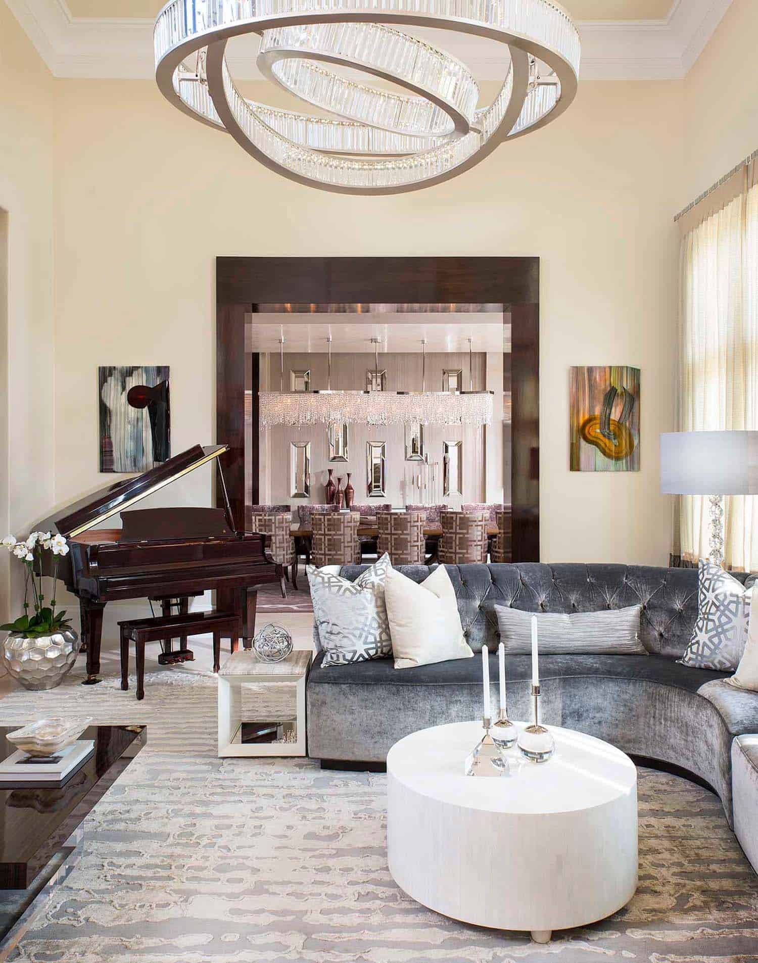 Contemporary Style Home-Dallas Design Group-04-1 Kindesign