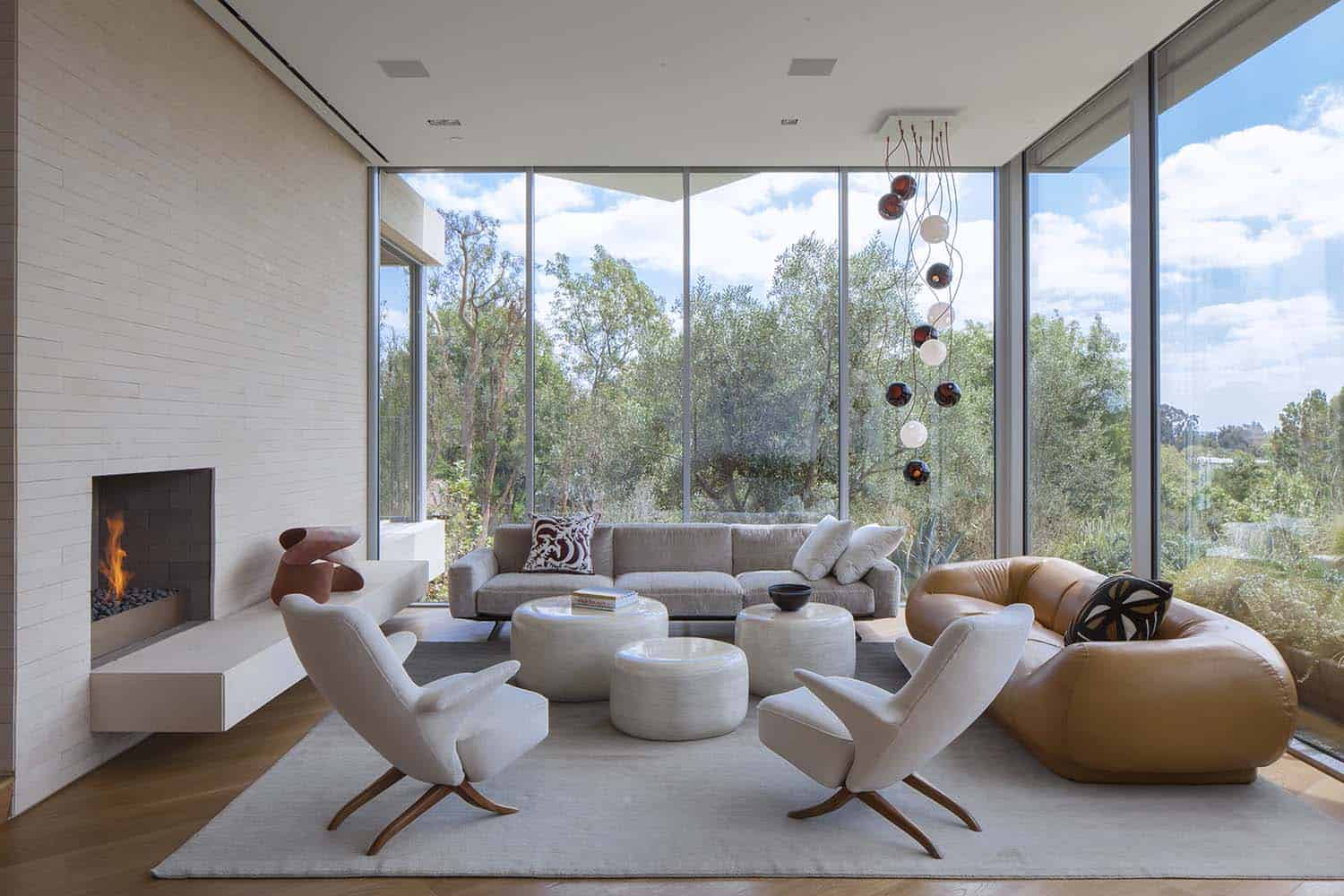 Contemporary Treetop Residence-Belzberg Architects-04-1 Kindesign