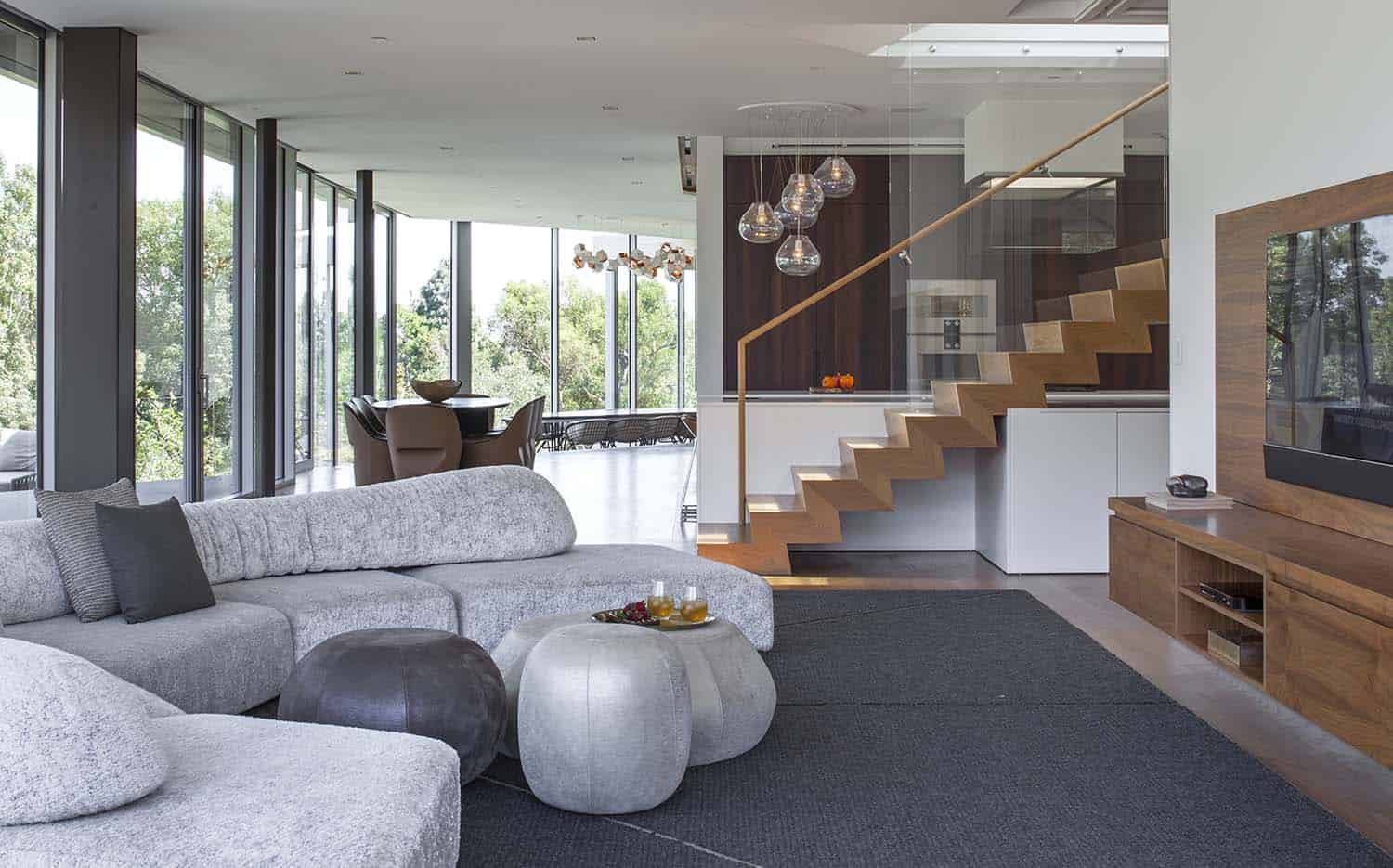 Contemporary Treetop Residence-Belzberg Architects-09-1 Kindesign