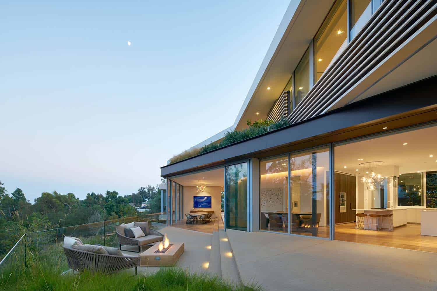 Contemporary Treetop Residence-Belzberg Architects-10-1 Kindesign