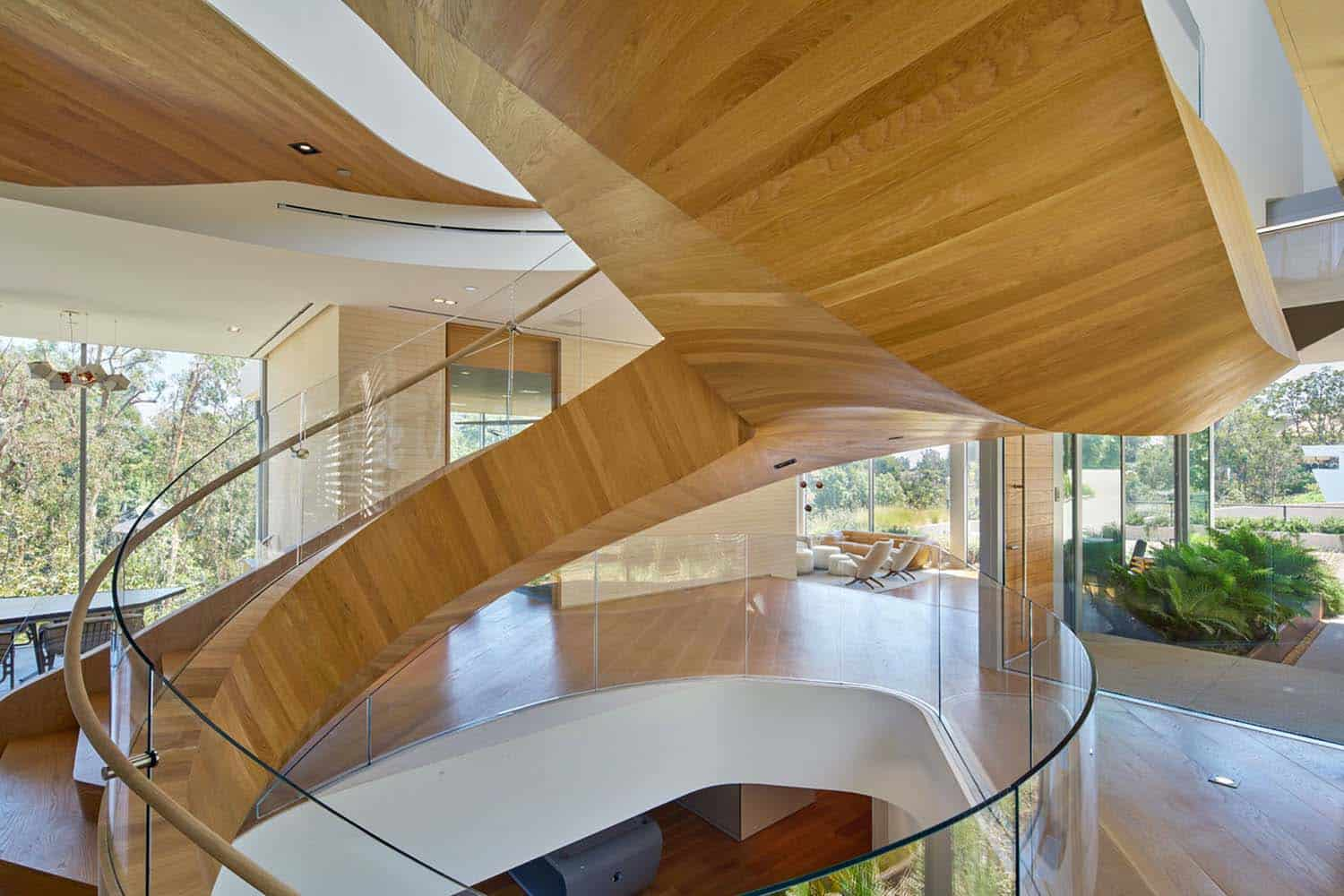 Contemporary Treetop Residence-Belzberg Architects-13-1 Kindesign