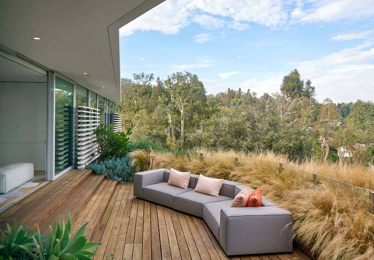Contemporary Treetop Residence-Belzberg Architects-14-1 Kindesign