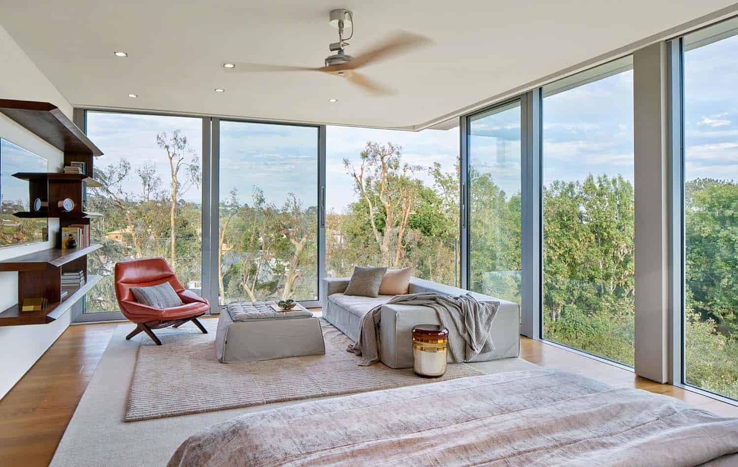 Contemporary Treetop Residence-Belzberg Architects-15-1 Kindesign