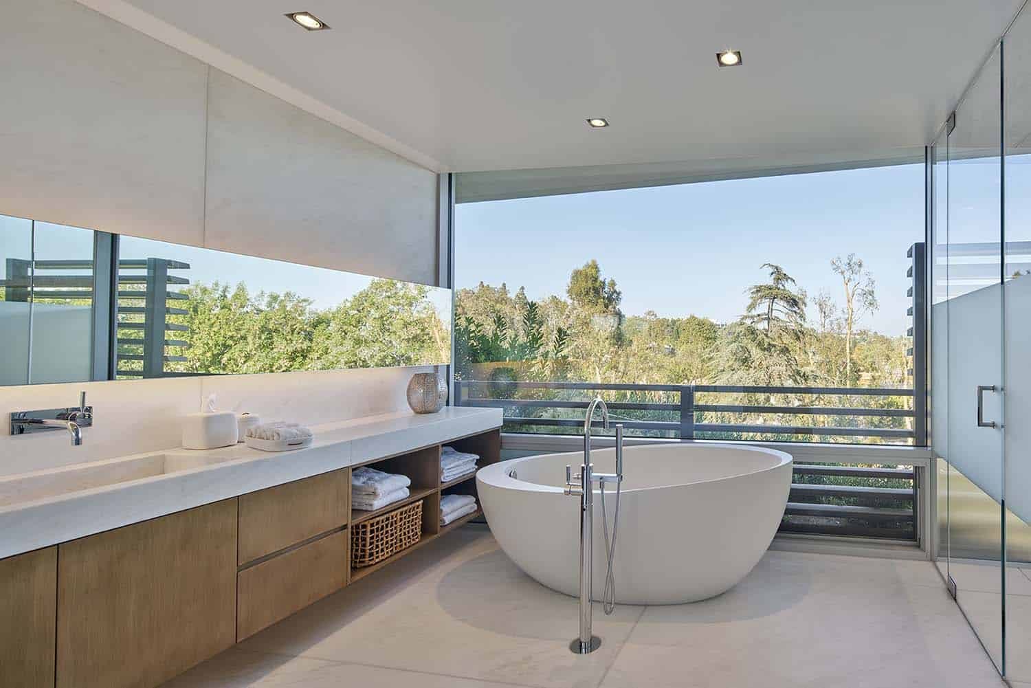 Contemporary Treetop Residence-Belzberg Architects-16-1 Kindesign